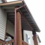 Rain gutter installation for Palmer AK
