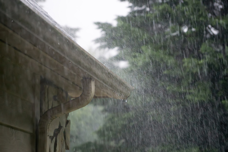 Under Deck Rain Carrying System