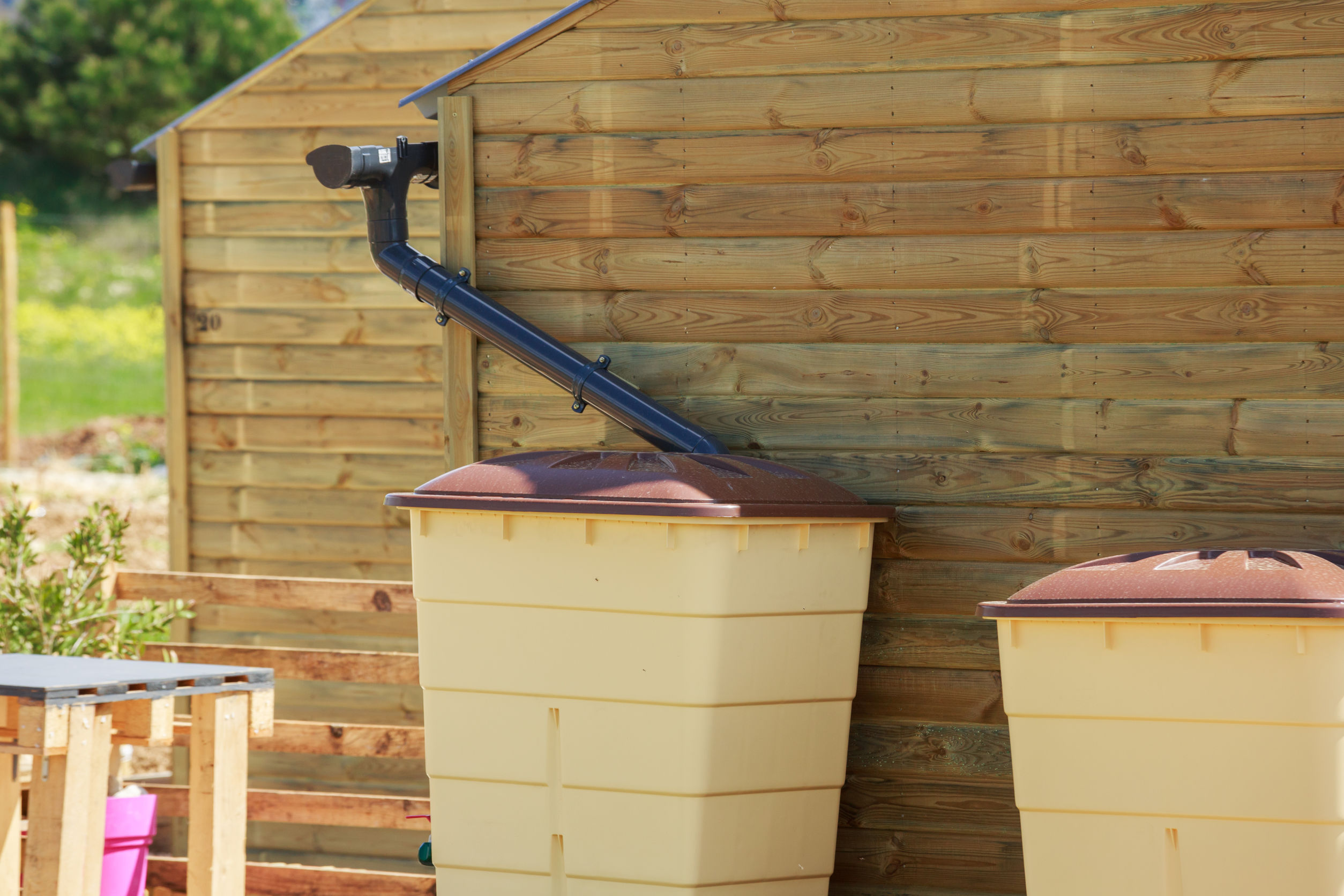 Collecting Rainwater from Your Gutters